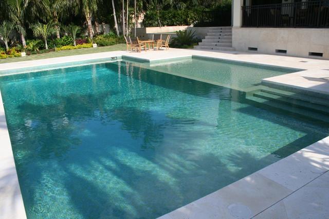 green swimming pool